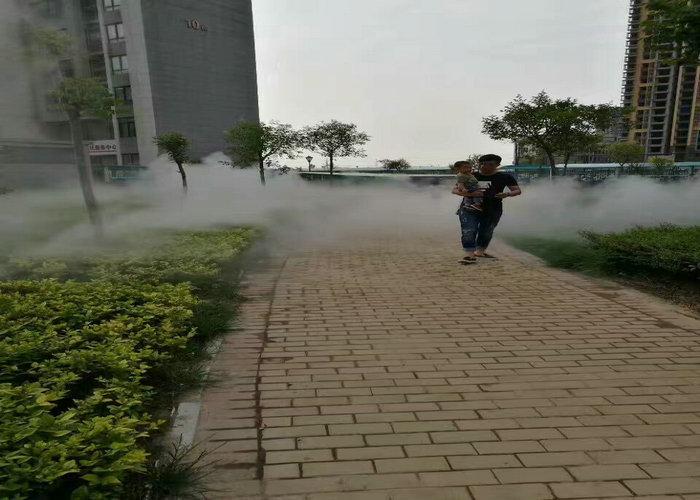 青海假山人工造雾设备|游乐场雾森系统送货