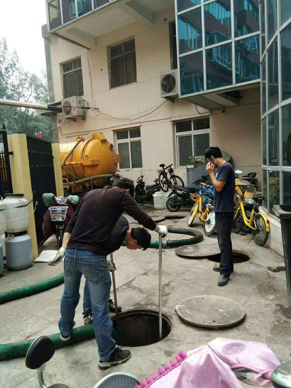 汉沽管理区下水道清洗—施工方案