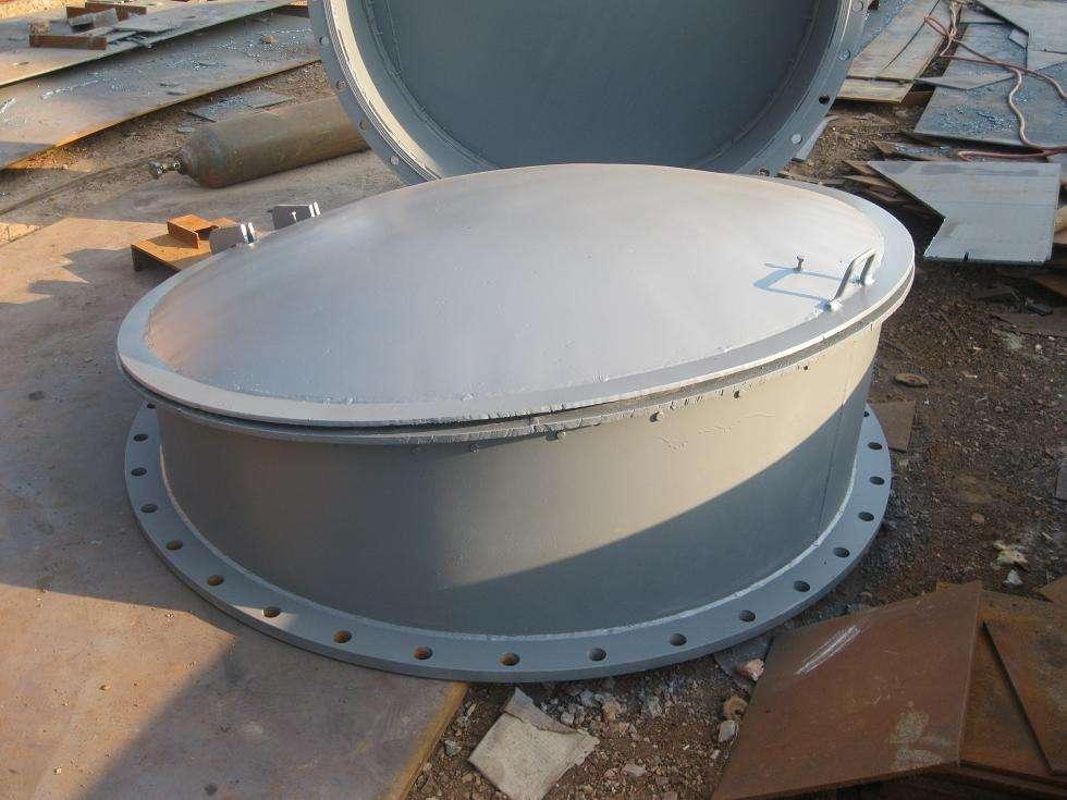 日喀则拉孜法兰式铸铁拍门厂家+法兰式铸铁拍门厂家产品