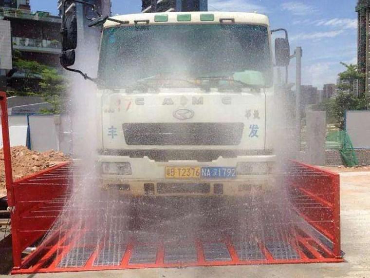 NPD昆明市五华区工程车辆自动洗车台详细解读