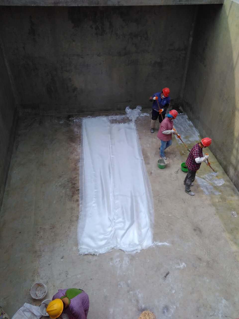 南陵县环氧玻璃钢水池防腐公司