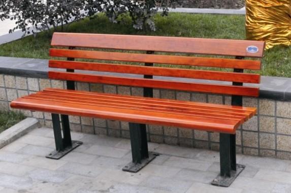 行内性价高阜新景区实木座椅
