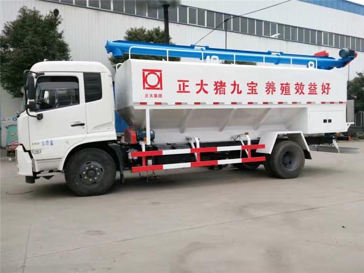 称心的饲料罐装车 7吨运饲料车几多钱啊