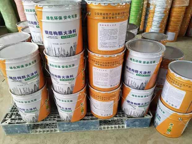 中山市三乡镇耐火1.5小时钢结构防火涂料多少钱一吨