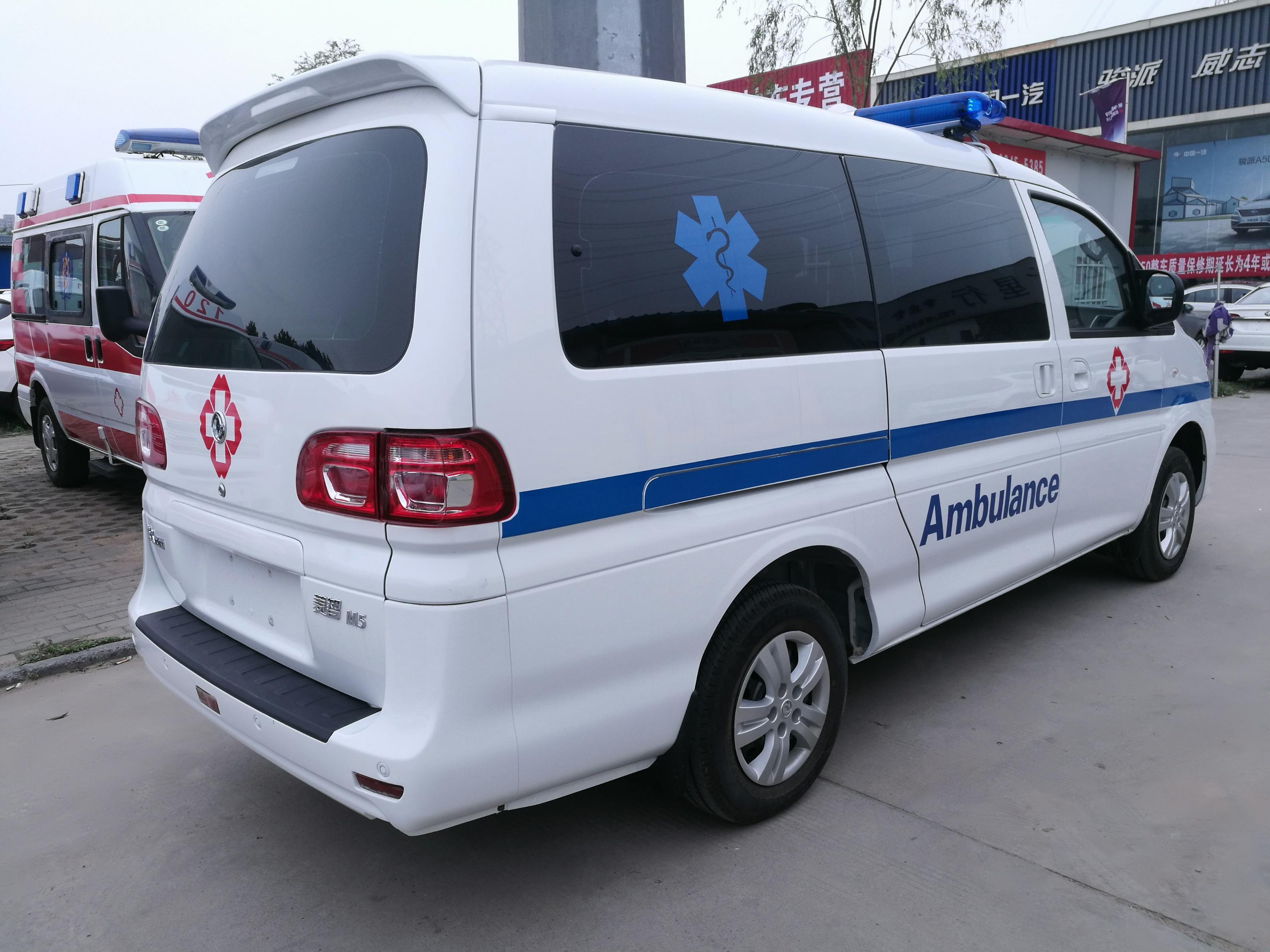 双鸭山福特新全顺V362救护车性能强劲