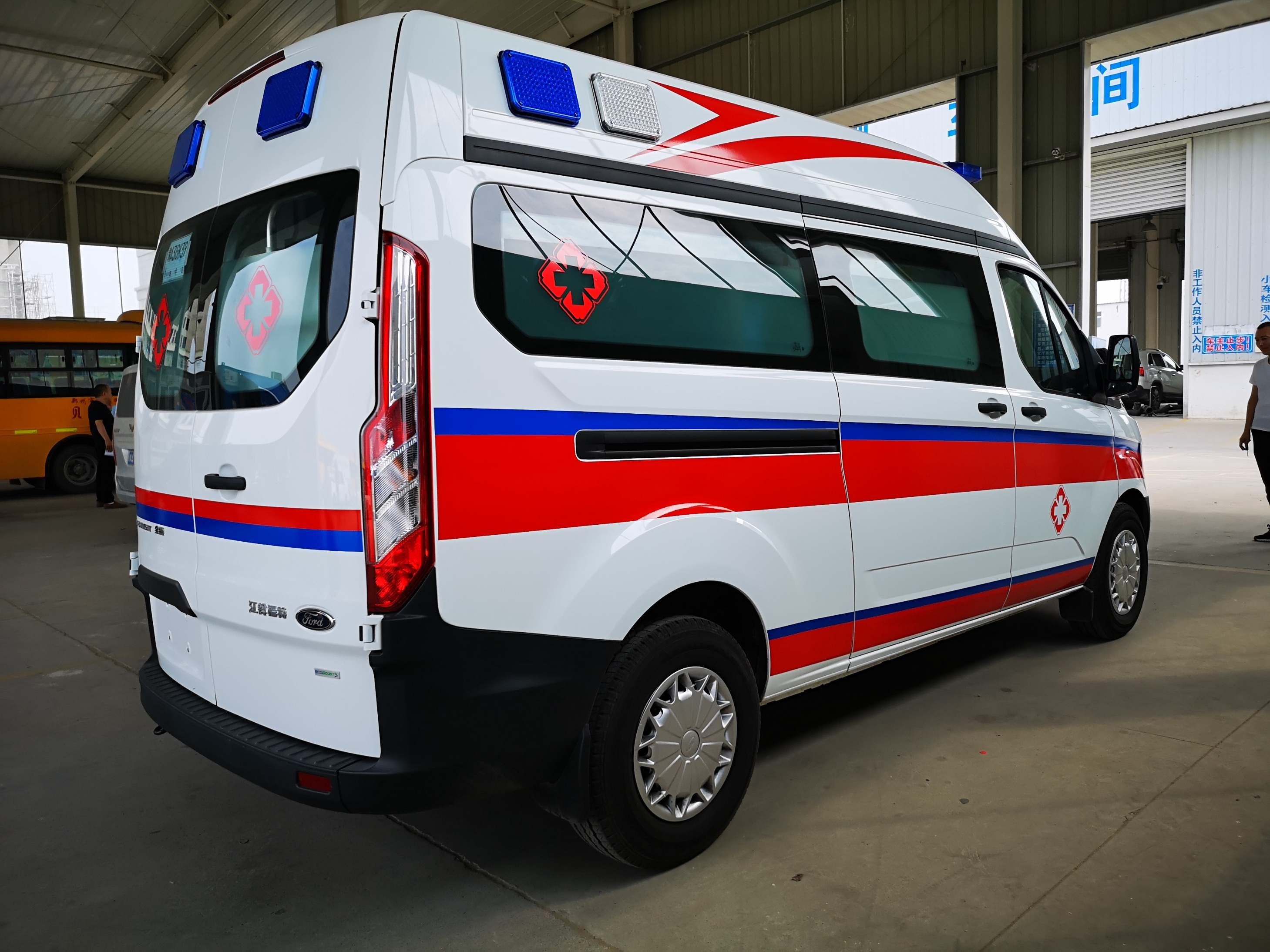大同北汽福田G7救护车型号齐全