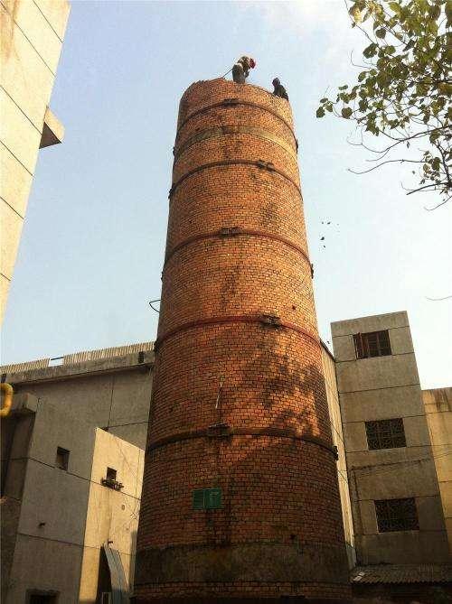 珠海烟囱刷色环公司专业烟囱防腐施工单位