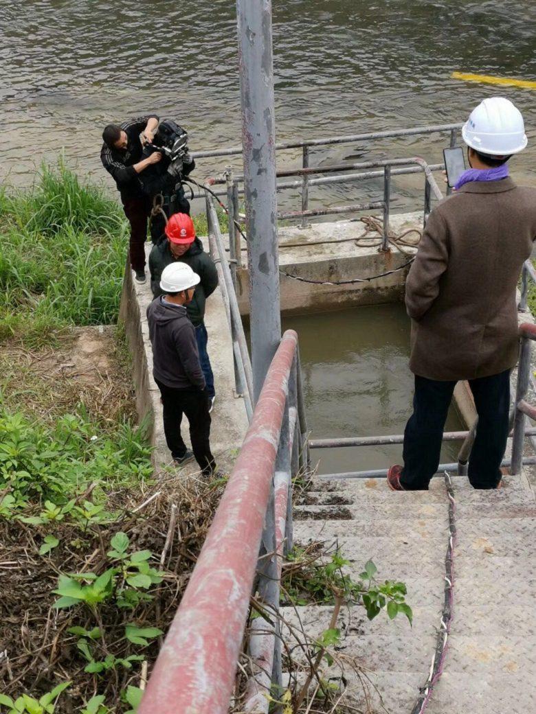 沈阳市水下作业公司--水下探摸检查