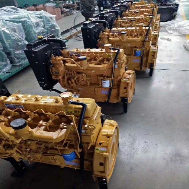 龙泉市HDWZG55发动机4102带增压柴油发动机离合器座机总成高清图