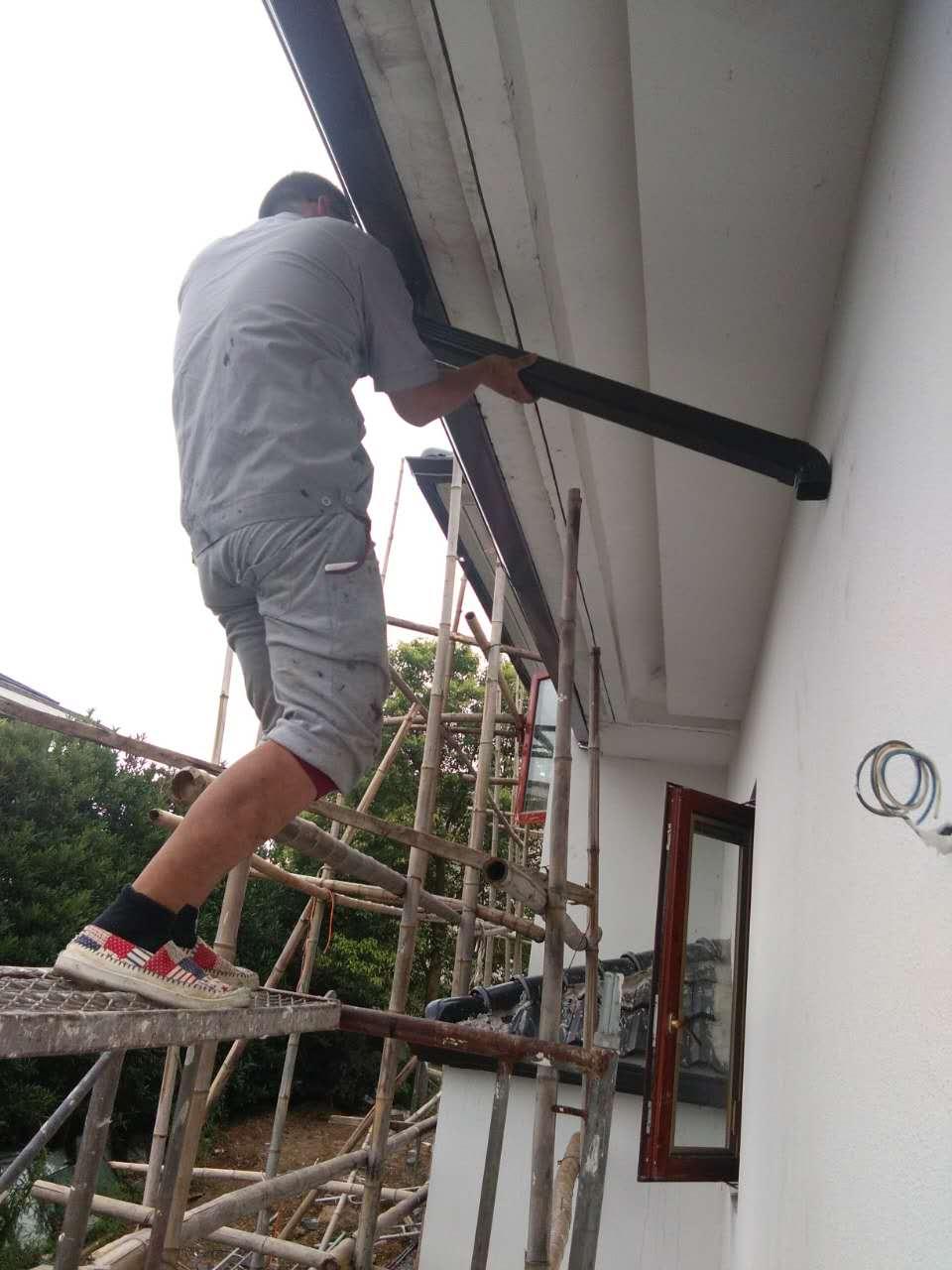 丹东铝合金檐槽厂家生产