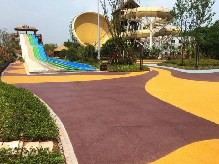 临沧彩色透水地坪施工方案
