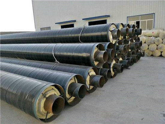 广西壮族自治区贺州市小区供暖用630*8聚氨酯发泡保温钢管生产厂家