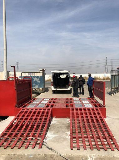 仲夏来临:湛江市滚轮式洗轮机:基建平台的改造