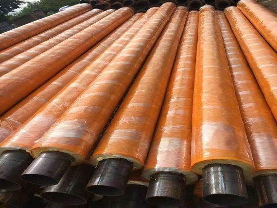黑龙江省黑河市供暖用DN15聚氨酯保温钢管现货厂家