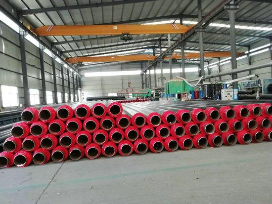 供暖用DN300直埋发泡保温管道常用规格,