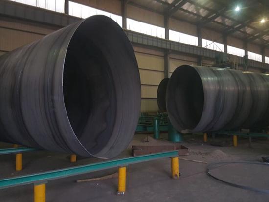 1.2米螺旋縫焊接鋼管廠家銷售處