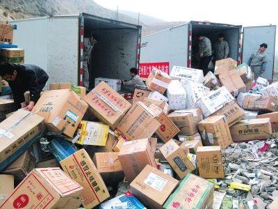 沙溪镇不达标鞋子衣帽销毁公司货车人工上门搬运