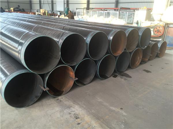 天然气输送3pe防腐直缝钢管厂德庆