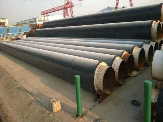 安徽省蚌埠市供暖用DN1400聚氨酯发泡保温钢管生产厂家