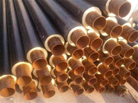 咸阳市预制地埋聚氨酯钢套钢发泡保温钢管一米多少钱