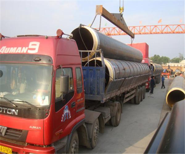 昭通巧家133*4.5热水输送供暖保温钢管干保温价格