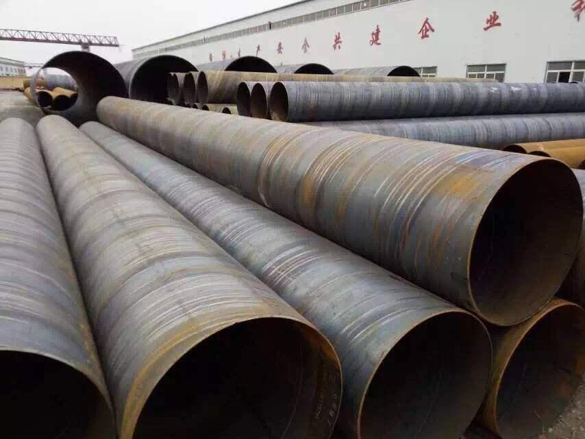 架空污水管线用D720螺旋焊管大型厂家松阳