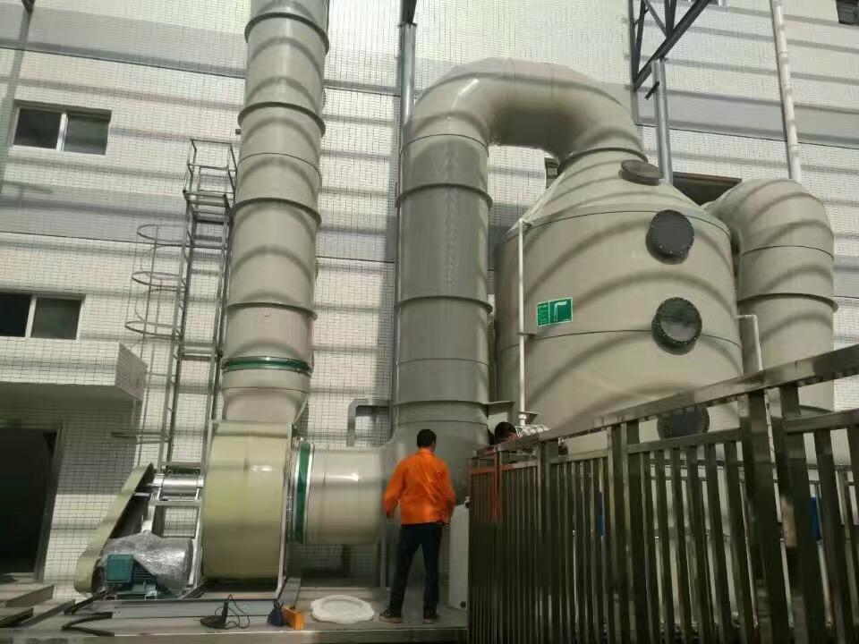 安徽安庆化肥厂废气处理设备操作规程