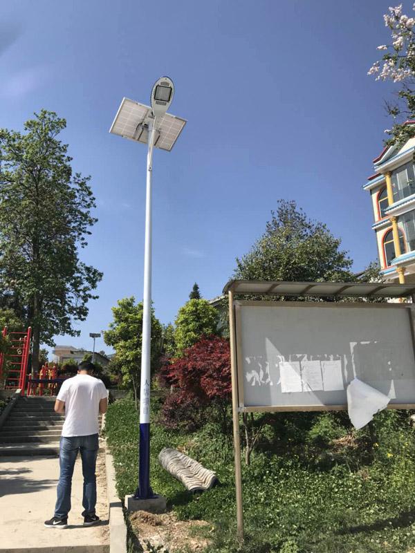 甘孜县太阳能路灯厂家6米7米路灯价格