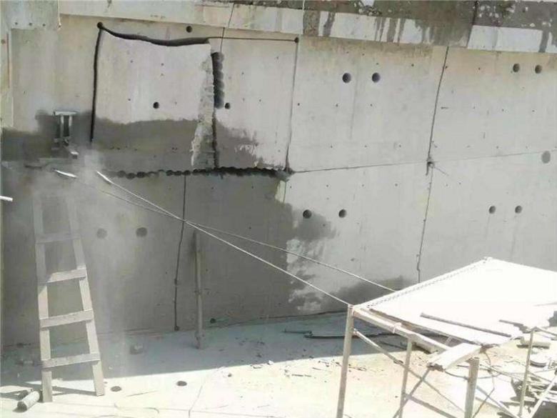 关注:江海挡土墙切割施工方案