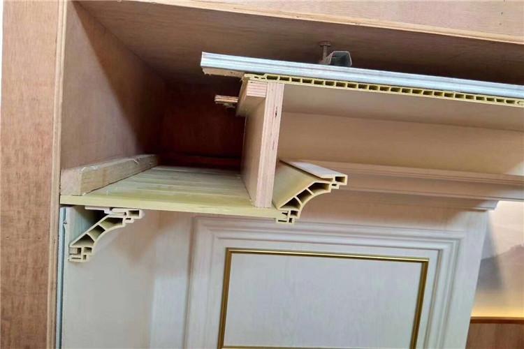 烟台环保集成墙板店面门头装修效果