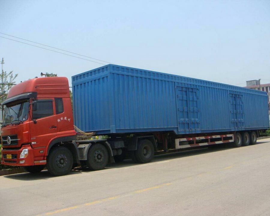 烟台到深圳有4米2到9米6大货车出租高栏车拉货