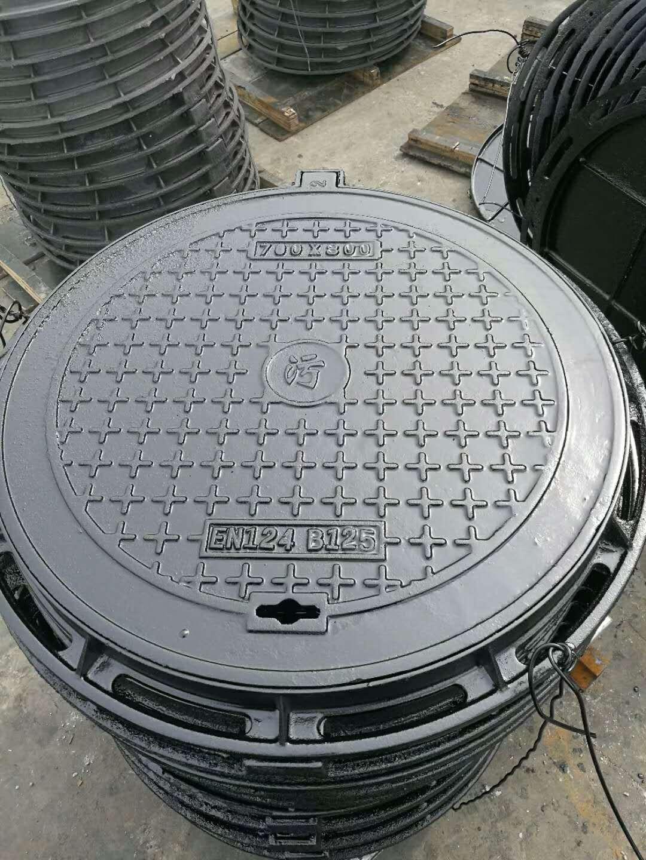 荆州重型球墨铸铁井盖多种尺寸任意选择