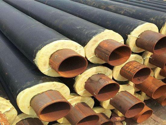 小区供暖用DN150直埋保温钢管批发,