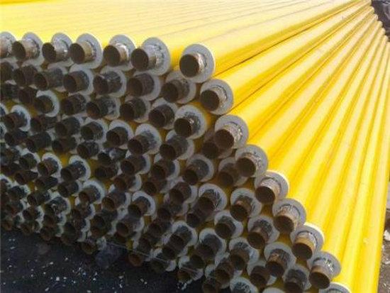 地埋供暖用426*6聚氨酯发泡保温管道批发,