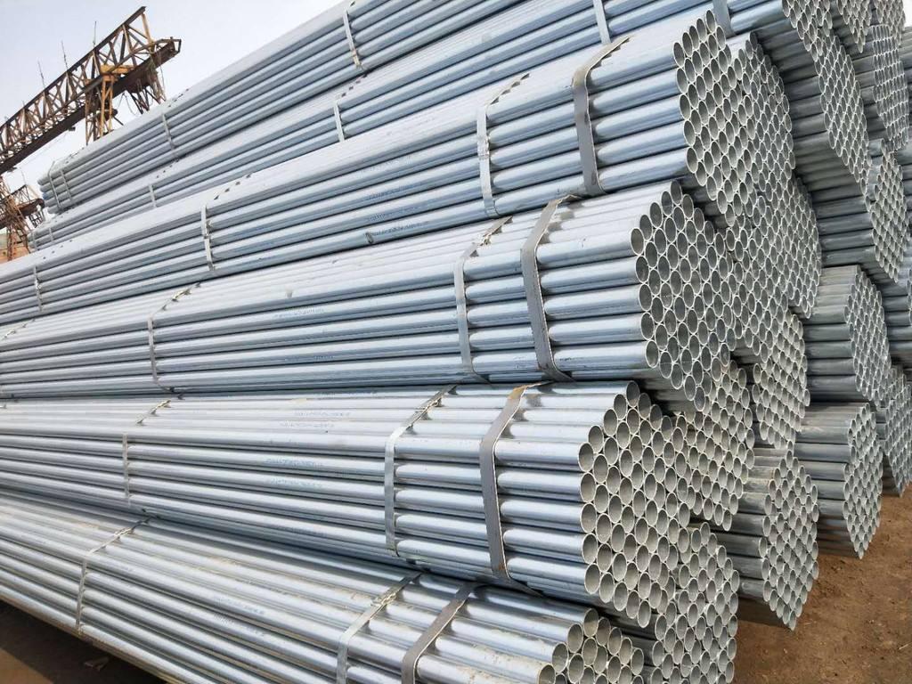 迪庆壁厚3.06-3.5热侵锌钢管厂报价【阔恒兴旺】
