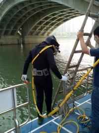 达州市水下打捞队——民间潜水打捞队