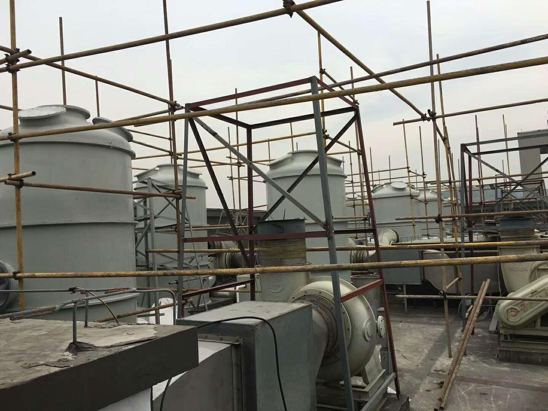 南通炼油厂废气处理设备【结构cad图】