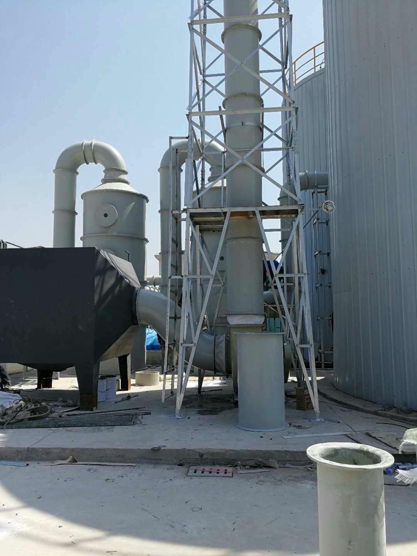 上海嘉定煤气厂废气处理装置及工艺流程
