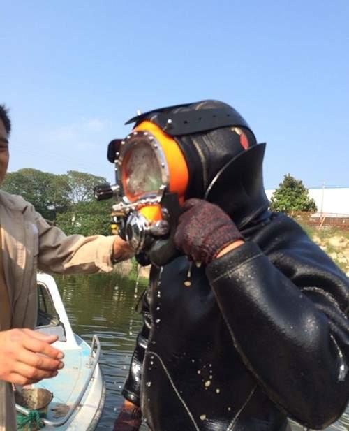 马鞍山市蛙人打捞队——打捞图片
