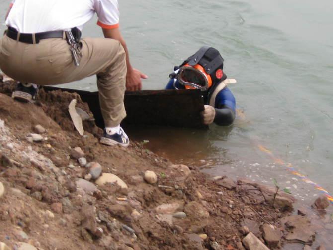 明光市水下堵漏公司——打捞队伍