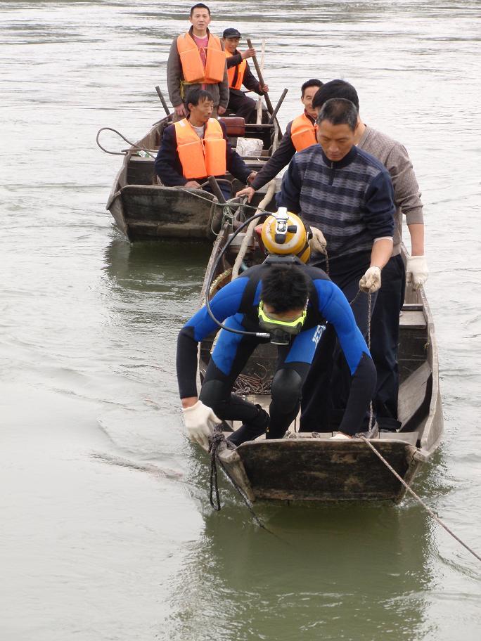 松原市蛙人作业服务公司——打捞方案