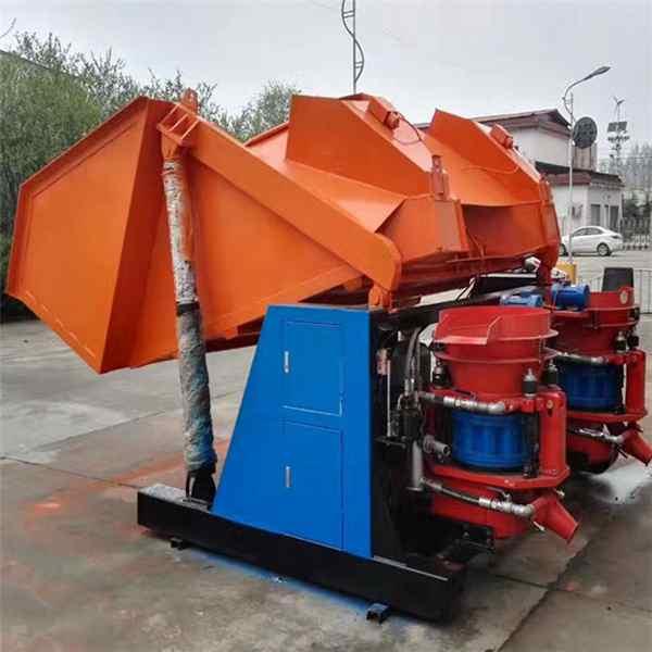 福建龙岩喷锚机自动上料喷浆机组