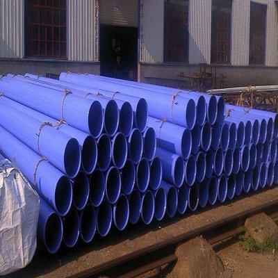 遂宁安居大口径涂塑螺旋钢管厂家