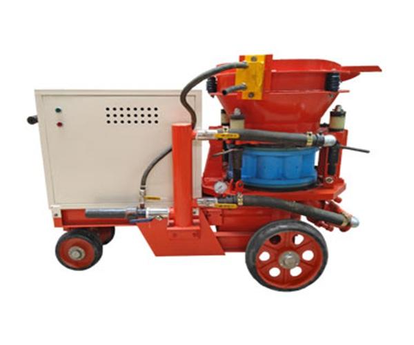 岷县小型干式喷浆机自动上料喷浆机组