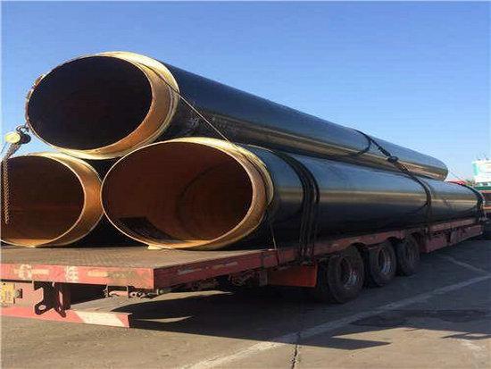 供暖用3寸直埋保温钢管价钱