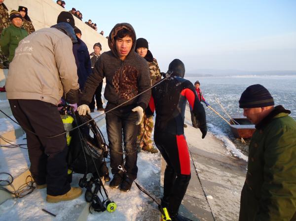 图片:吉林省潜水打捞公司-60m潜水深度