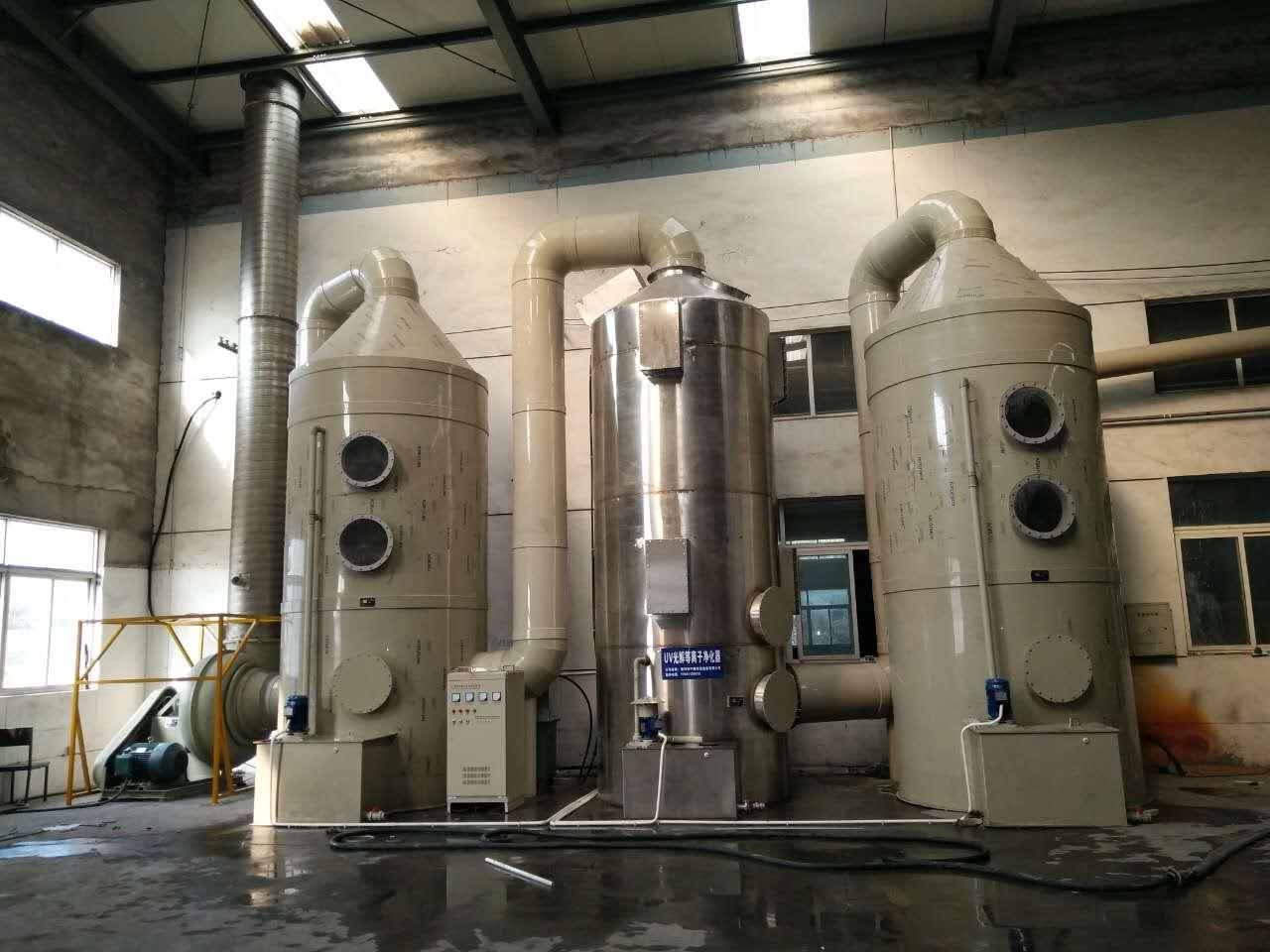 化工厂废气处理装置(及工艺流程)-嘉兴