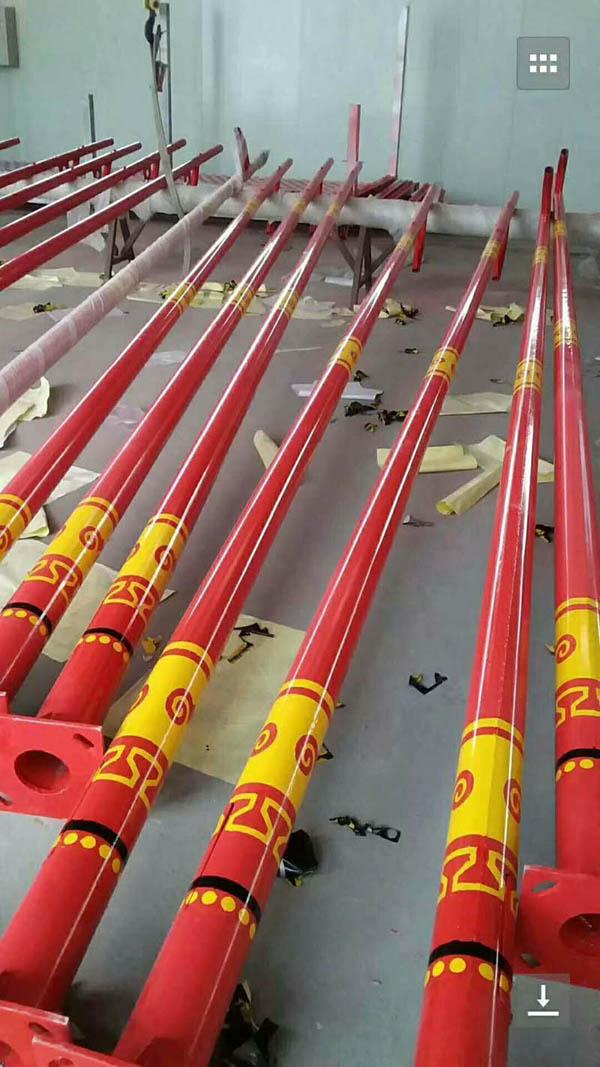 济南长清10米12米市电路灯杆厂家批发直销