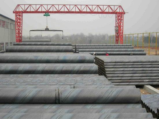 富锦市政排污管道用钢管价格走势