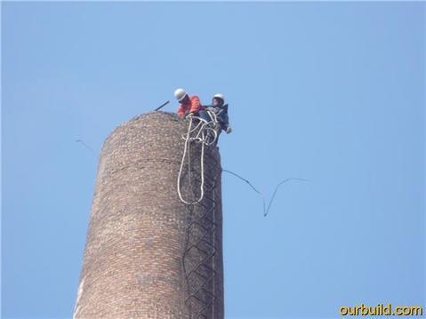 北票砖烟囱人工拆除公司(水泥烟囱拆除)——诚信为本